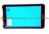 Сенсорный экран (тачскрин) к планшету Asus ME170CG, FE170CG черный (Оригинал)