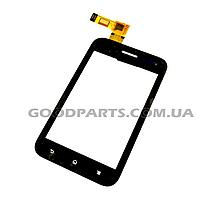Сенсорный экран (тачскрин) для Sony ST21i Xperia Tipo, ST21i2 Xperia Tipo черный (Оригинал)