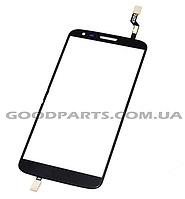 Сенсорный экран (тачскрин) для LG D802 G2 черный high copy