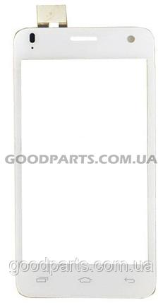 Сенсорный экран (тачскрин) для FLY IQ4491 Quad ERA Life 3 белый (Оригинал), фото 2
