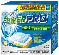 Таблетки для посудомоечной машины WPRO POWERPRO 24 шт (SWP 81473) 484000001148