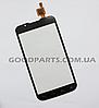 Сенсорный экран (тачскрин) для LG P715 Optimus L7 II черный (Оригинал)