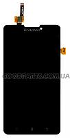 Дисплей с тачскрином для Lenovo P780 черный (Оригинал)