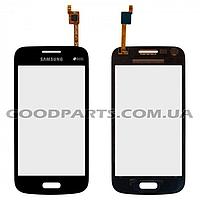 Сенсорный экран (тачскрин) для Samsung G350e Galaxy Star Advance серый high copy