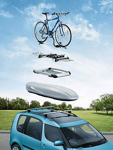 Качественный багажник на крышу автомобиля