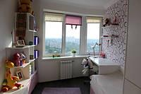 Бело-розовая детская комната