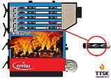 Твердотопливный промышленный котел Еmtas EK3G- 500 трехходовой (дрова,уголь), фото 4