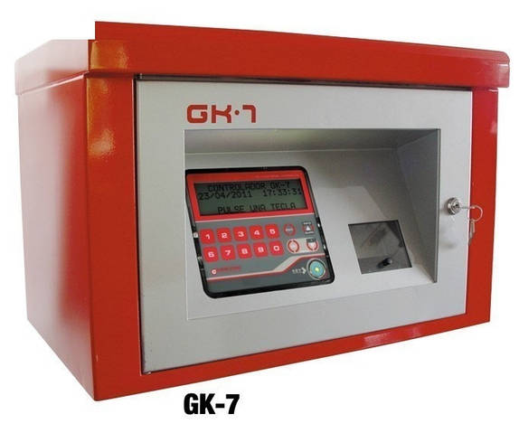 Электронная система контроля раздачи дизельного топлива GK-7 Gespasa (Испания)