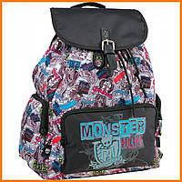 "Рюкзак торба Монстер Хай | Рюкзак ""KITE"" Monster High 965"