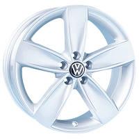 Литые диски Replica Volkswagen (A-014) W7 R16 PCD5x100 ET35 DIA57.1 silver