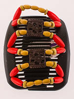 Гребни для формирования прически African butterfly Dupla черная, фото 1