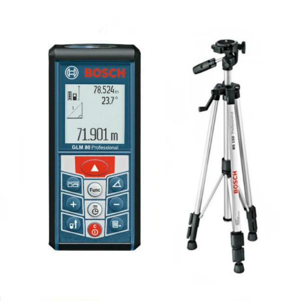 Лазерный дальномер Bosch GLM 80 + BS150, 06159940A1