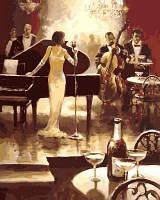 Живопись по номерам. Ночь джаза