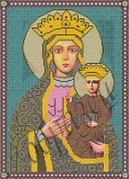 Схема для вышивки бисером Гошивская чудотворная  икона Божьей матери КМИ 3005