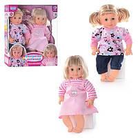 Интерактивные куклы-двойняшки M 2142 U I Сестрички-затейницы KHT