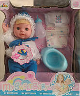 Интерактивная кукла-пупс My Sweet Baby 13008C с аксессуарами YNA/05-31