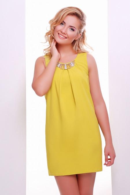 Нарядное летнее платье в расцветках