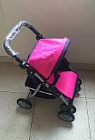 Baby Tilly Коляска для куклы серия Маша и Медведь цвет синий с малиновым 9337/ 9352 // YNA/ 05-12