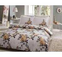 TAC евро комплект  постельного белья saten Delux Lorca sari