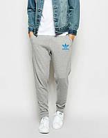 Штаны спортивные мужские Adidas Адидас трикотажные на резинке