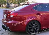 Спойлер на стекло Lexus IS 250 (спойлер заднего стекла Лексус IS 250)