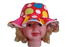 Панамка для девочек кружочки, фото 2