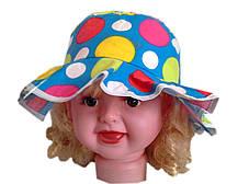 Панамка для девочек кружочки, фото 3