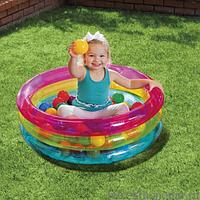 Детский надувной центр с шариками Intex 48674, фото 1