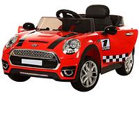 Детский электромобиль Mini Cooper M 3182EBR-3, красный
