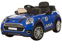 Детский электромобиль Mini Cooper M 3182EBR-4, синий