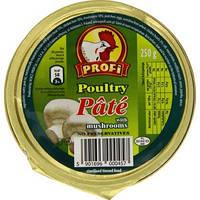 Паштет Profi курка з грибами 131г