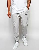 Штаны спортивные мужские Adidas трикотажные на резинке