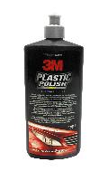 Паста 3М 59016 для полировки пластика и фар 500 мл Полироль Полировка Шлифовка Реставрация Фар Автомобиля