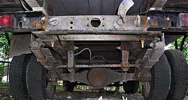 Задняя подвеска со стабилизатором