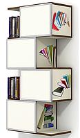 """Полка навесная закрытая, шкаф навесной для книг №1 """"Детский кабинет"""""""
