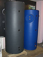Теплоаккумулятор 350 л с теплообменником из нержавеющей стали