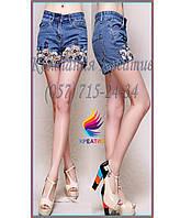 Джинсовые шорты с вашим логотипом (под заказ от 50 шт)