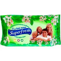 """Влажные салфетки универсальные """"Superfresh"""" (60 шт)"""
