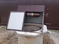 Домик на колодец двухскатный