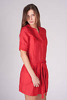 Женское платье-туника MANGO красное. , фото 1
