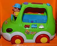 Развивающая игрушка музыкальный автобус ZYE 00014 YNA /0-7
