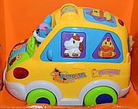 Развивающая игрушка музыкальный автобус ZYE 00015 YNA /0-8