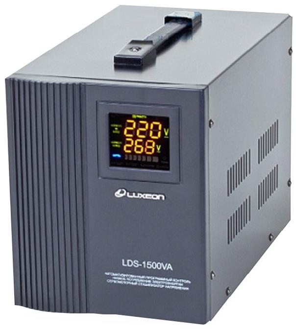 Релейный однофазный стабилизатор напряжения Luxeon LDS-1500