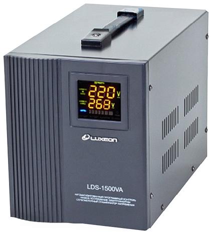 Релейный однофазный стабилизатор напряжения Luxeon LDS-1500, фото 2