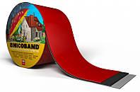 NICOBAND Самоклеюча герметизуюча бітумна Червона стрічка 10м х 10см /ТехноНІКОЛЬ