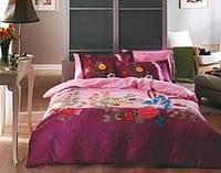 TAC Евро комплект постельного белья сатин Cerella lila