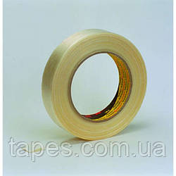 Армированный упаковочный скотч 3М 8956 (12мм х 50м х 0,13мм)