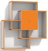 Полка навесная с шкафчиком  № М12