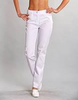 Жіночі  однотонні  медичні штани (коттон) Грація