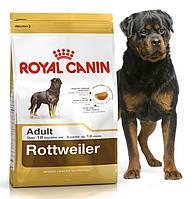 Корм для ротвейлеров старше 18 месяцев Royal Canin (Роял Канин) Rottweiler Adult 26 Основное питание, Для взрослых животных, Собаки, Royal Canin, Франция, 3 кг, Сухие корма